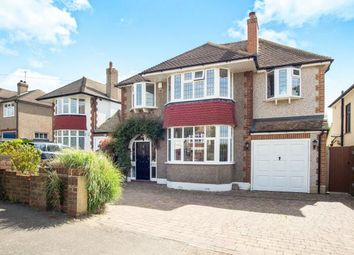 Thumbnail 4 bedroom detached house for sale in East Ewell, Epsom, Surrey