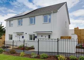 Thumbnail 2 bed semi-detached house for sale in Wordsworth Crescent, Plymouth