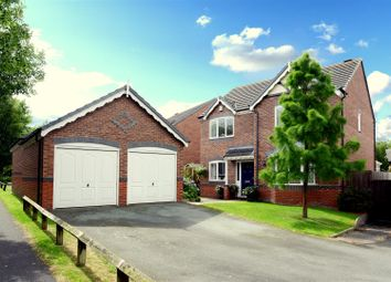 Thumbnail 4 bed detached house for sale in Shackleton Way, Bicton Heath, Shrewsbury