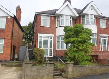 Thumbnail 3 bed semi-detached house for sale in Broad Avenue, North Evington, Leicester