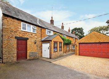 Thumbnail 4 bed detached house for sale in Cross Street, Moulton, Northampton