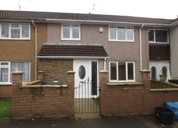 Thumbnail 3 bed terraced house to rent in Ash Green, Oakfield, Cwmbran