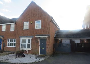 Thumbnail 3 bed end terrace house for sale in Mill Furlong, Rugby