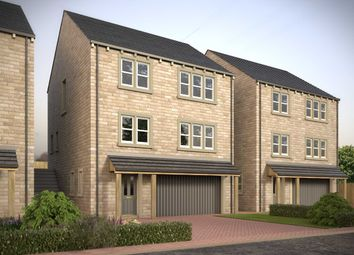 Thumbnail 4 bedroom detached house for sale in Laund Croft, Salendine Nook, Huddersfield