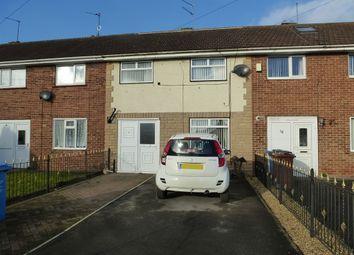 Thumbnail 3 bedroom terraced house for sale in Bainbridge Avenue, Greatfield Estate, Hull