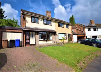 Thumbnail 3 bed semi-detached house for sale in Browning Road, Blurton, Stoke-On-Trent