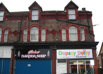 Thumbnail 3 bed flat to rent in Litherland Road, Bootle
