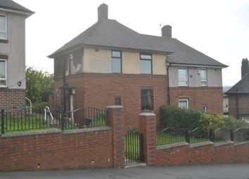 Thumbnail 2 bedroom semi-detached house for sale in Wordsworth Crescent, Parson Cross, Sheffield