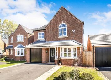 Thumbnail 4 bed detached house for sale in Croft Close, Tamworth, Staffordshire, England