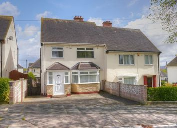 Thumbnail 3 bed semi-detached house for sale in The Willows, Throckley, Newcastle Upon Tyne
