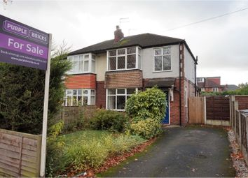 Thumbnail 3 bed semi-detached house for sale in Wallingford Road, Handforth, Wilmslow