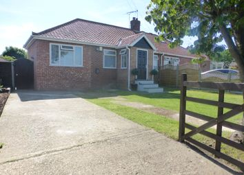 Thumbnail 3 bedroom semi-detached bungalow for sale in Oval Road, New Costessey, Norwich