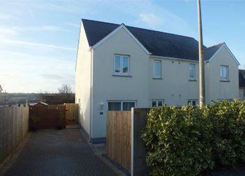 Thumbnail 2 bed semi-detached house for sale in Buttermilk Close, Pembroke, Pembrokeshire