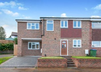Thumbnail 4 bedroom end terrace house for sale in Vale Close, Seaford