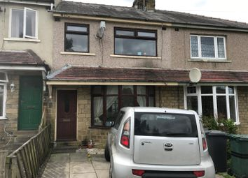 Thumbnail 2 bed terraced house for sale in Clayton Road, Bradford, West Yorkshire