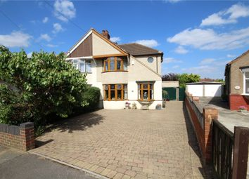 Thumbnail 4 bed semi-detached house for sale in Yorkland Avenue, South Welling, Kent