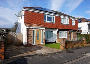 Thumbnail 2 bed semi-detached house for sale in Clockhouse Avenue, Manchester