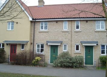 Thumbnail 2 bed terraced house to rent in Spring Lane, Bury St. Edmunds