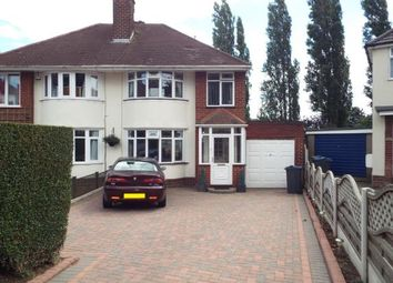 Thumbnail 3 bed semi-detached house for sale in Endhill Road, Kingstanding, Birmingham, West Midlands