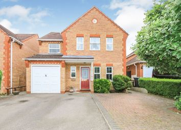 Thumbnail 4 bed detached house for sale in Crocus Way, Rushden