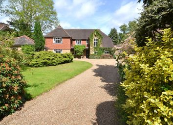 Thumbnail 5 bed detached house for sale in Burwood Road, Burwood Park, Hersham, Walton-On-Thames