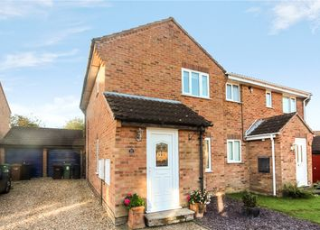 Thumbnail 2 bed semi-detached house for sale in Partridge Drive, Mulbarton, Norwich, Norfolk