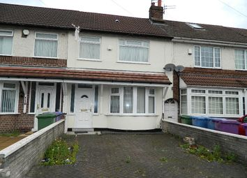 Thumbnail 3 bedroom terraced house to rent in Carr Lane East, West Derby, Liverpool