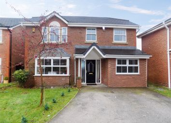 Thumbnail 4 bed detached house for sale in Poplar Drive, Coppull, Chorley, Lancashire