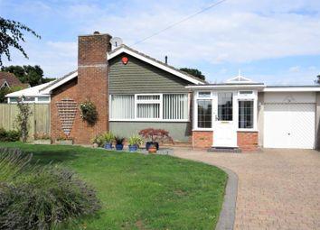 Thumbnail 3 bed detached bungalow for sale in Elizabeth Crescent, Hordle, Lymington