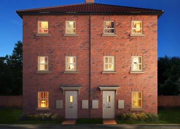 Thumbnail 1 bed town house for sale in The Livorno, Asket Drive, Leeds