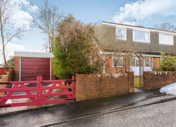 Thumbnail 3 bed semi-detached bungalow for sale in Salisbury Close, Heolgerrig, Merthyr Tydfil