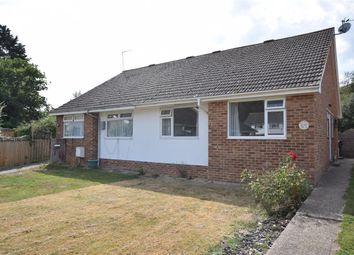 Thumbnail 2 bed semi-detached bungalow to rent in Bramble Drive, Hailsham, East Sussex