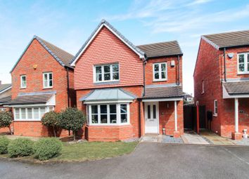 Thumbnail 4 bed detached house for sale in Barnes Close, Wilford