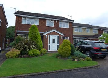 Thumbnail 4 bed detached house for sale in Oldbury Close, Hopwood, Heywood