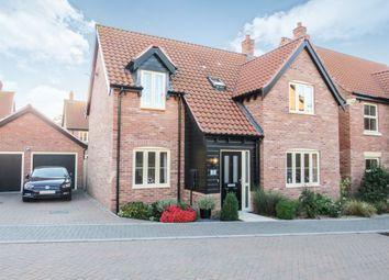 Thumbnail 4 bed detached house for sale in Snapdragon Close, Attleborough
