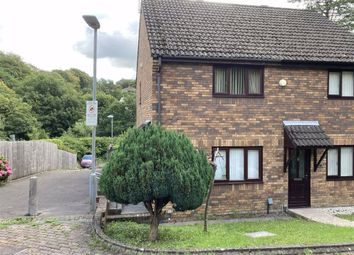 Thumbnail 2 bed semi-detached house for sale in Gelli Aur, Treboeth, Swansea