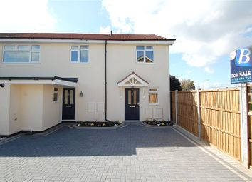 Thumbnail 3 bedroom end terrace house for sale in Manston Way, Hornchurch