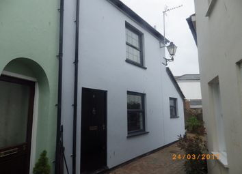 Thumbnail 1 bed end terrace house to rent in Somerset Place, Barnstaple