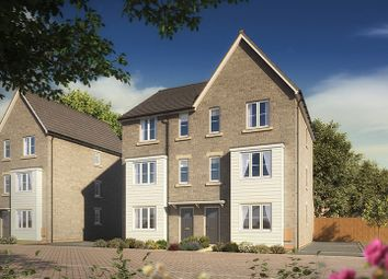"Thumbnail 4 bed terraced house for sale in ""The Seasprite"" at Clarks Close, Yeovil"