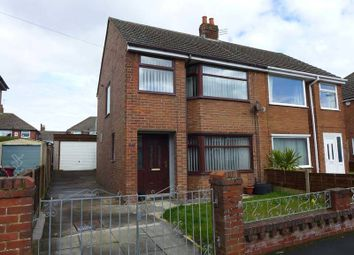 Thumbnail 3 bed semi-detached house for sale in Cromer Road, Bispham, Blackpool