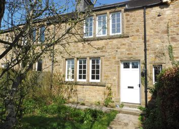 Thumbnail 3 bed terraced house to rent in Calver Road, Baslow, Bakewell