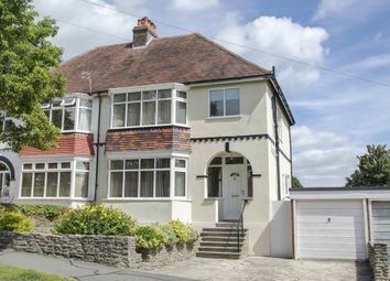 Thumbnail 3 bed semi-detached house for sale in Farlington Avenue, Cosham, Portsmouth