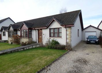 Thumbnail 3 bed semi-detached bungalow for sale in 23 Knockomie Gardens, Forres