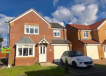 Thumbnail 4 bedroom detached house to rent in Kirkharle Drive, Ashington