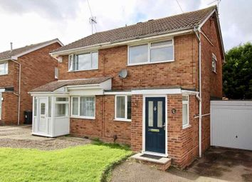 Thumbnail 2 bed semi-detached house for sale in Field Close, Hinckley