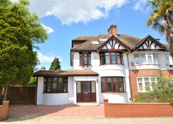 Thumbnail 5 bed property for sale in Claremont Avenue, New Malden