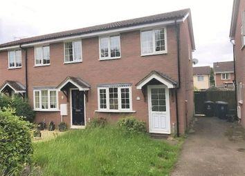 Thumbnail 2 bedroom semi-detached house to rent in Morden Road, Papworth Everard, Cambridge