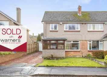 Thumbnail 3 bed semi-detached house for sale in 12 Clerwood Way, Corstorphine, Edinburgh