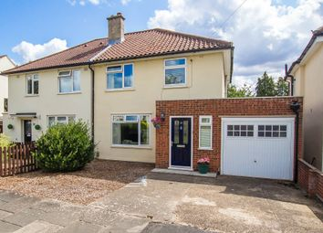 Thumbnail 3 bed semi-detached house for sale in Bancroft Close, Cambridge