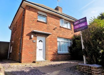 Thumbnail 3 bed semi-detached house for sale in Martin Road, Hove
